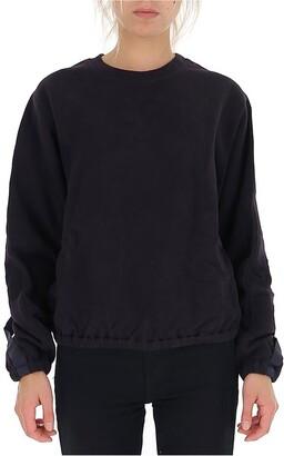 Helmut Lang Buckle Cuff Sweater