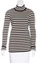 Bouchra Jarrar Wool Striped Sweater