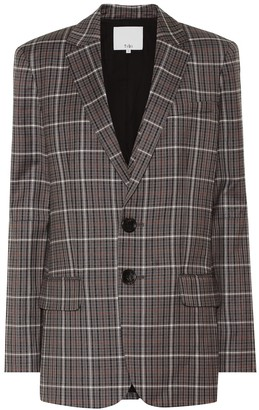 Tibi Gabe checked blazer