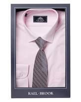 Rael Brook Pink L/S Shirt And Tie Set R