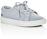 Lacoste Boys' L.12.12 Pique Knit Lace Up Sneakers