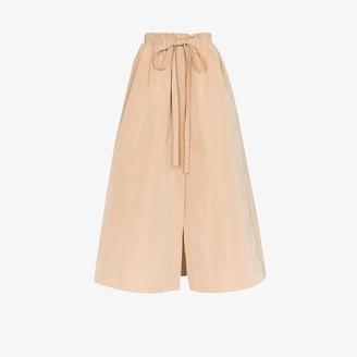 Givenchy Gathered Waist Maxi Skirt