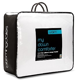 Bloomingdale's My Warm Asthma & Allergy Friendly Down Comforter, Queen - 100% Exclusive