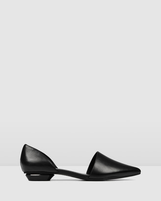 Jo Mercer - Women's Black Ballet Flats - Costa Dress Flats - Size One Size, 38 at The Iconic