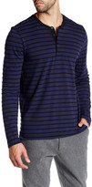 Kenneth Cole New York Long Sleeve Jersey Henley Shirt