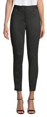 Anne Klein Flat-Front Ankle Pants