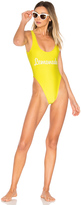 Private Party Lemonade One Piece Swimsuit