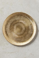 Anthropologie Etched Metal Coaster