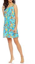 Lauren Ralph Lauren Paisley Jersey Nightgown