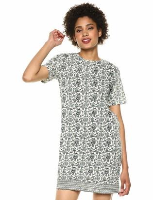 Lucky Brand Women's Woodblock Print T-Shirt Dress