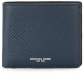 Michael Kors jacquard portfolio wallet - men - Leather - One Size