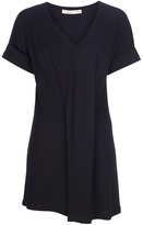 Balenciaga draped t-shirt dress