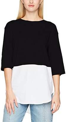 Jennyfer Women's TSH17ACBIMAT Long-Sleeved Top,Medium