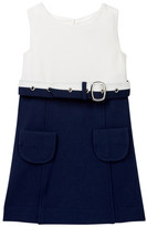 Milly Minis Cece Combo Sleeveless Dress (Little Girls)