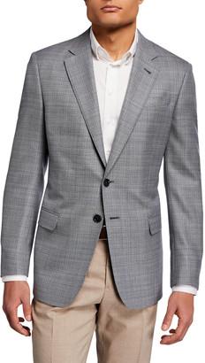Giorgio Armani Men's Neat Wool Sport Jacket