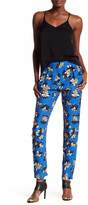Corey Lynn Calter Daniella Floral Print Silk Pant