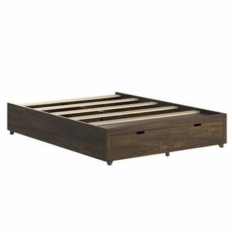 Latitude Run Abdool Solid Wood Low Profile Storage Platform Bed Size: King