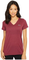 Under Armour Threadborne Train Short Sleeve V-Neck Heather Top Women's Short Sleeve Pullover