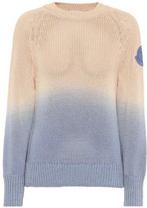 Moncler Ombre cotton sweater