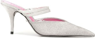 Schutz Mini Shine mule sandals