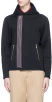 Kolor Asymmetric zip hoodie