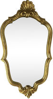 One Kings Lane Vintage French Vintage Gilded Wood Frame Mirror