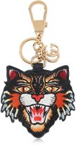 Gucci Angry Cat Patch Keychain