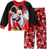 Disney Disney's Mickey Mouse Toddler Boy Raglan Pajama Top & Bottoms Set
