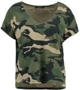 SET Print Tshirt khaki green
