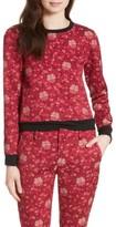 Alice + Olivia Women's Marylou Floral Jacquard Sweatshirt