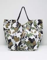 Monki Camo Shoulder Bag