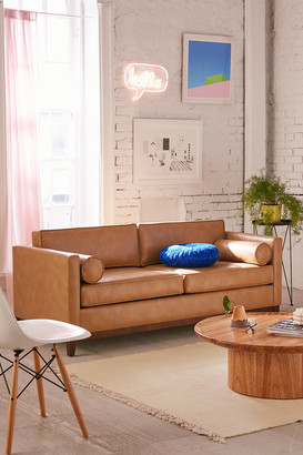 Urban Outfitters Piper Petite Recycled Leather Sofa