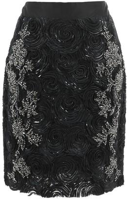 Vera Wang Black Silk Skirts