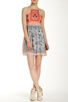 Blu Pepper Printed Short Dress