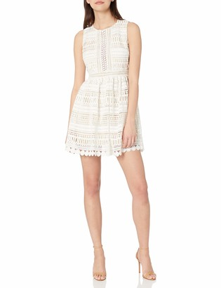 Ark & Co Women's Full Lace Shurring Dress