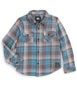 Quiksilver Haybeam Plaid Brushed Flannel Shirt (Toddler Boys, Little Boys, & Big Boys)