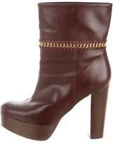 Stella McCartney Mid-Calf Chain-Link Boots