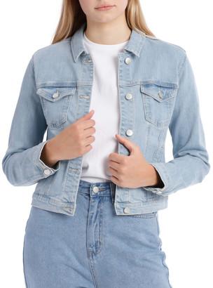 Miss Shop Blue Denim Jacket