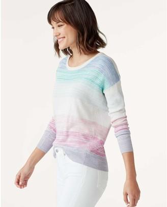 Splendid Long Sleeve Stripe Sweater - Hull