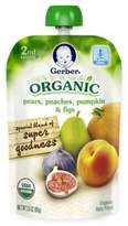 Gerber 2nd Foods® Organic 3.5 oz. Pears, Peaches, Pumpkin, and Figs