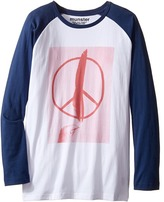 Munster Peace Feather Long Sleeve T-Shirt (Toddler/Little Kids/Big Kids)