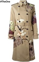 Valentino 'Kimono 1997' trench coat - women - Silk/Cotton/Polyester - 42