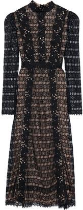 Giambattista Valli Guipure Lace Midi Dress