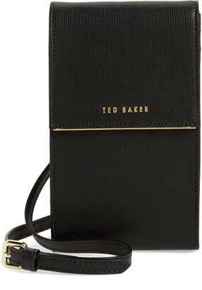 Ted Baker Geriee Saffiano Leather Phone Crossbody Bag