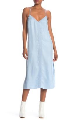 Frame V-Neck Slip Dress