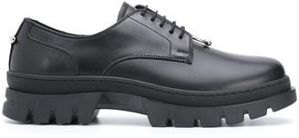 Neil Barrett leather Derby shoes