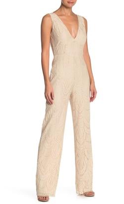 Honey Punch Lace Sleeveless Jumpsuit