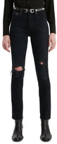 Levi's 501® Ripped High Waist Ankle Skinny Jeans