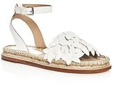 Pour La Victoire Pica Floral Embellished Espadrille Sandals