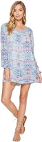 Roxy Sneak Peak Long Sleeve Cover-Up Women's Dress